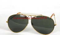 Fear and Loathing Hunter Las Vegas DARK GREEN Sunglasses
