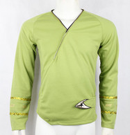 ST TOS Classic Wrap Green Shirt