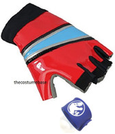 Harley Quinn Glove with Jurassic Wristband by costumebase