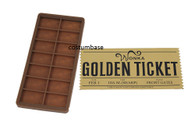 WILLY WONKA DIY Chocolate Bar Mould + GOLDEN TICKET