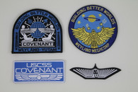 Aliens Covenant Weyland Set of 4 Patch