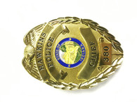 STRANGER THINGS CHIEF POLICE BADGE