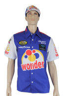 Ricky Bobby Nascar Shirt Talladega Nights Crew + #26 Wonder Bread Cap hat