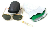 Fear & Loathing Las Vegas Hat Dark Green Sunglasses Cigarette Holder