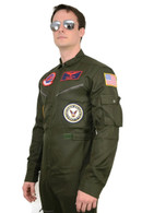 Top Gun Maverick / Goose Costume + Sunglasses Party Men Flight Suit jumpsuit