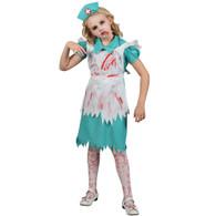 Zombie Nurse Girls Halloween Nurses Fancy Dress Costume