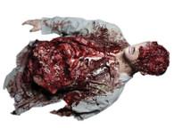 Zombie Half Body Parts Leftovers Undead Halloween Haunted House Prop