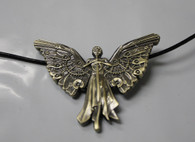 CLOCKWORK ANGEL PENDANT Mortal Instruments Infernal Devices City of Bones