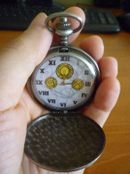 FOB Pocket Watch Dr Who Alloy