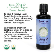 SPEAK LOVE Flower Remedy