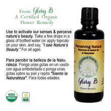 PERCEIVING NATURE Organic Flower Essence