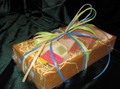 Four bars of our most popular soaps in a cute, reusable wooden crate.  Great gift idea.  Handmade in Door County, Wisconsin.