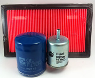 NISSAN NAVARA D22 2.4L PETROL 3/97-8/99 FILTER KIT
