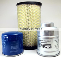 NISSAN NAVARA D22 2.5L TURBO DIESEL YD25 FILTER KIT