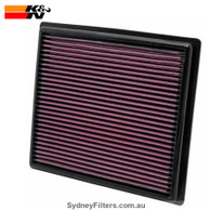 MITSUBISHI TRITON MQ 2.4L TURBO DIEL 4N15 K&N AIR FILTER