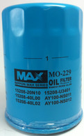 WZ502NM OIL FILTER to suit NISSANS. (Interchangeable with Z416, Z502) | NIPPON MAX MO229
