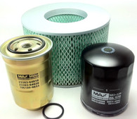 TOYOTA LANDCRUISER 4.2L 1HZ TURBO DIESEL FILTER KIT