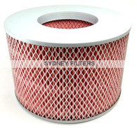 AIR FILTER (1780167030, A1350, WA1017) TOYOTA LANDCRUISER