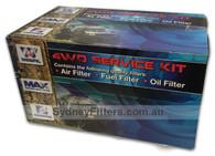 HOLDEN CAPTIVA CGii - 2.2L TURBO DIESEL Z22DI (12/2012 -> ON) AIR OIL FUEL FILTER KIT