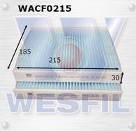 TOYOTA HILUX CABIN FILTER - RCA333P WACF0215