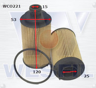 LDV G10 OIL FILTER [WCO221] (Suits Petrol Models)