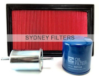 HOLDEN COMMODORE VP VR VS 3.8L V6 FILTER KIT