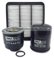 MITSUBISHI TRITON 2.5L AIR OIL FUEL FILTER KIT