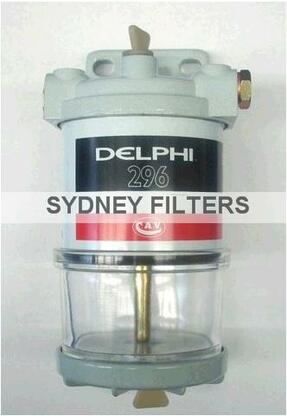 cav hdf fuel filter assembly delphi  lucas cav