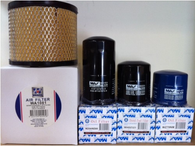 HOLDEN JACKAROO 3.0L TURBO DIESEL 4JX1 AIR OIL FUEL FILTER KIT