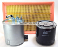 NISSAN NAVARA/PATHFINDER 2.5L TURBO DIESEL FILTER KIT | GENUINE OIL FILTER