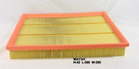 HOLDEN ASTRA/ZAFIRA AIR FILTER WA1141 (Interchangeable with A1556, 09194405, 835624, 9194405)