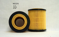 HOLDEN ASTRA OIL FILTER WCO70 (R2637P, 93183412)