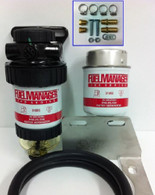 FMPRADODPK - TOYOTA PRADO 120 & 150 SERIES FUEL/WATER SEPARATOR PRE FILTER KIT [SINGLE BATTERY ONLY]