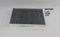 honda civic cabin filter WACF0091, 80292SMGE01, CU2454, RCA179P