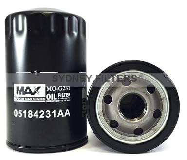 wco125 oil filter jeep grand cherokee