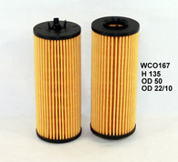 WCO167 OIL FILTER - CHRYSLER/JEEP/DODGE