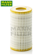 HU718/5x MANN OIL FILTER MERCEDES-BENZ [includes 5x O-rings]