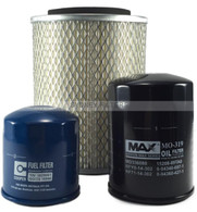 KIT137 JACKAROO 3.1L AIR OIL FUEL FILTER KIT