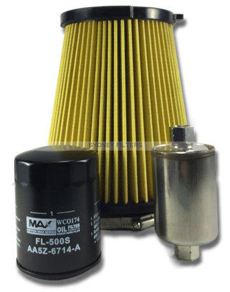 FORD FALCON FG BOSS 5.0L V8 AIR OIL FUEL FILTER KIT