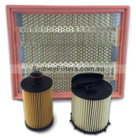 SSANGYONG ACTYON 2.0L XDi TURBO DIESEL AIR OIL FUEL FILTER KIT | 2013->on