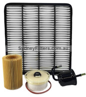 TOYOTA LANDCRUISER VDJ200 FILTER KIT with TWO FUELS