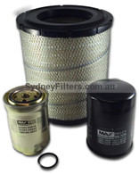 AIR OIL FUEL FILTER SERVICE KIT HINO DUTRO FILTER KIT for XZU402, XZU411, XZU412