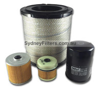 HINO DUTRO FILTER KIT to suit XZU409R, XZU419, XZU429R, XZU439R (616, 716, 818, 819, 916) (KIT166)