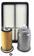 HYUNDAI SANTA FE 2.2L CRDi TURBO DIESEL AIR OIL FUEL FILTER KIT 2012->on