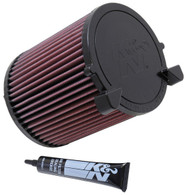 K&N AIR FILTER  E-2014 (interchangeable with WA5016, A1564, C14130)