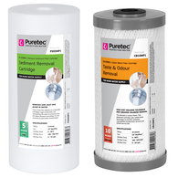 PX05MP1 (sediment) and CB10MP1 (taste and odour)