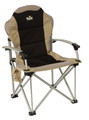 Royal Commander Adjustable Camping Chair in Black (355372)