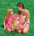 Pink Intex Inflatable Aquarium Beach Ball (58031)