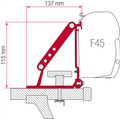 Fiamma F45 Awning Roof Rails Installation Kit Auto Adapter Brackets (98655-310)