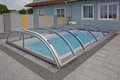 Star Low Level Telescopic Cross Section Swimming Pool Enclosure